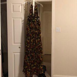 Ecote Backless Maxi Dress